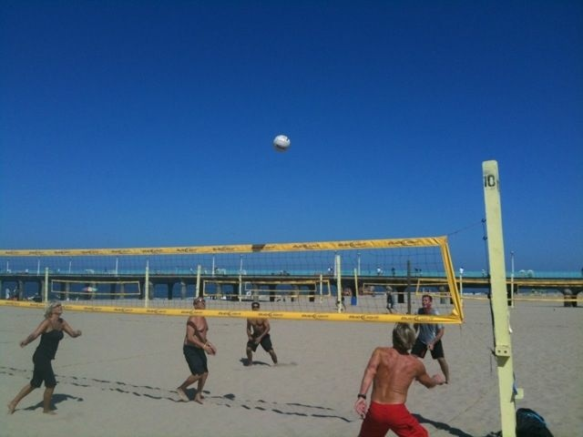 At least you can still play volleyball.