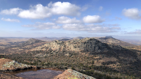 The U.S. Fish and Wildlife Service is bringing staff back to keep open dozens of wildlife refuges including Wichita Mountains Wildlife Refuge in Comanche County, Okla., despite the government shutdown.