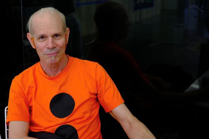 Video artist Charles Atlas