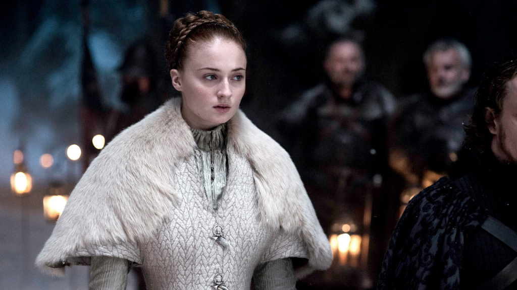 Sophie Turner as Sansa Stark in HBO's