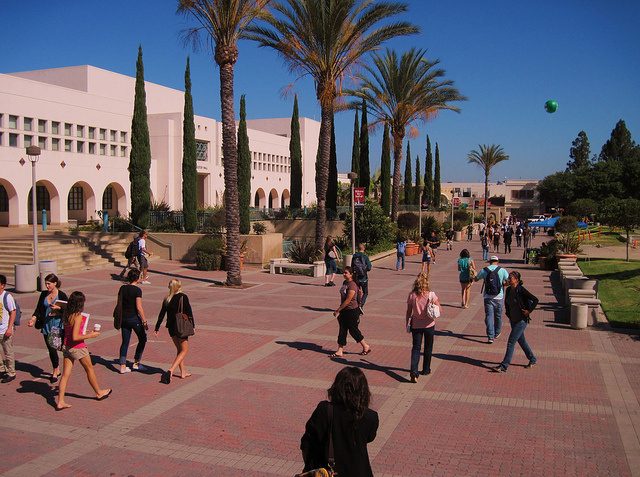 The San Diego State University campus.