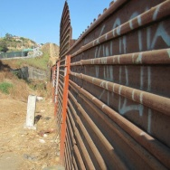The fence near the U.S.-Mexico border in Tijuana. The House and Senate have just days this week before the August recess to vote on competing immigration bills, both aimed at addressing the Central American migrant crisis at the border.