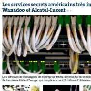 Le Monde has the scoop on allegations about NSA spying on French phone calls.