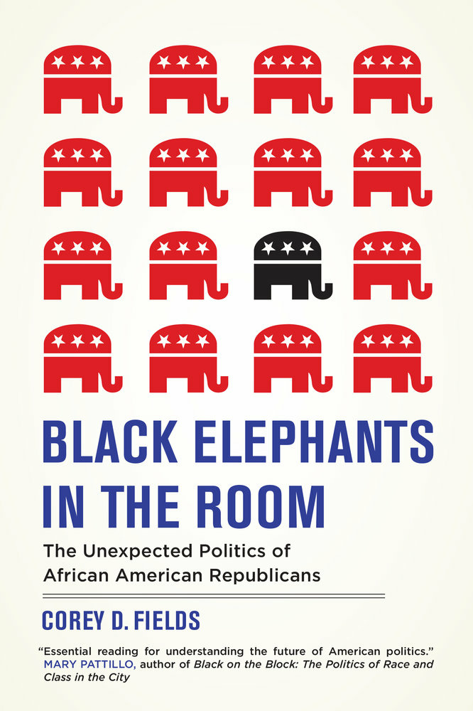 Black Elephant in the Room Book Cover from University of California Press website