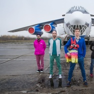 OK Go's new music video features the band floating in zero-gravity on a Russian airplane.
