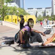 Occupy LA Anniversary - 2