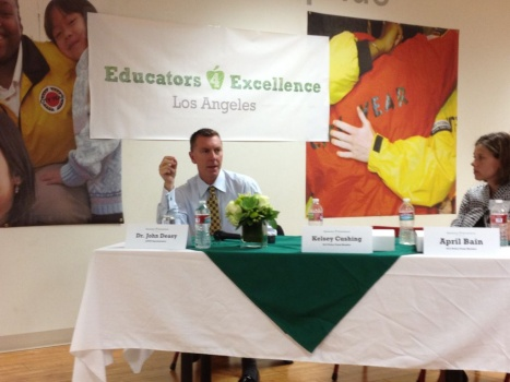 Deasy talks teacher evaluations