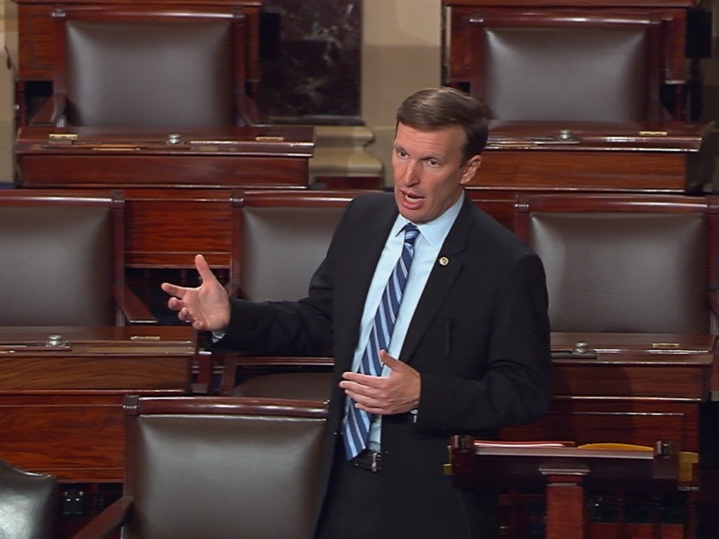 Sen. Chris Murphy, of Connecticut, said on Twitter that he was prepared to