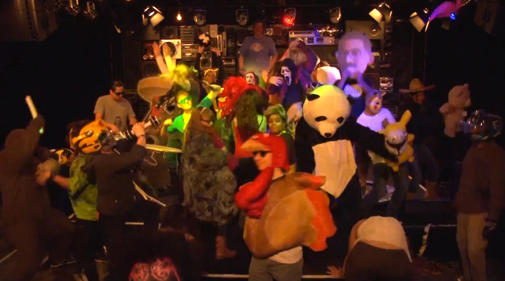 Local L.A. radio stations KROQ, AMP Radio and Jack FM join in on latest Internet sensation, the Harlem Shake.