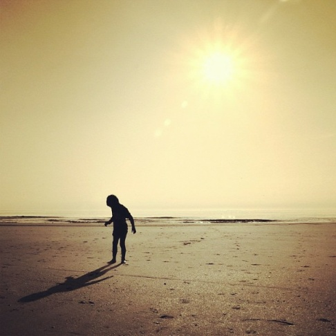 Linda Heidema took this picture of her son on the beach at sundown in May. The photograph is the winning image for our most recent challenge with Instagram Lovers Anonymous with the theme,
