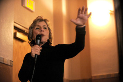 Senator Barbara Boxer on January 23, 2010 in Park City, Utah.
