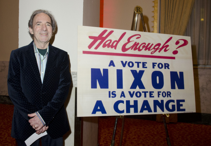 Comedian Harry Shearer poses for a portrait during the signing of his new CD