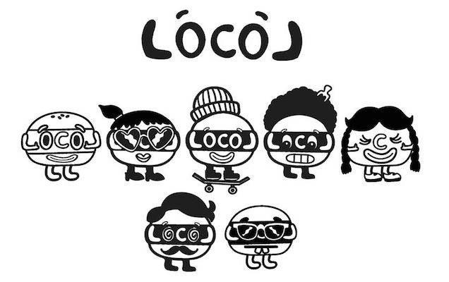 Chef Roy Choi's new restaurant LocoL has logos and characters with an elaborately fleshed out story line.