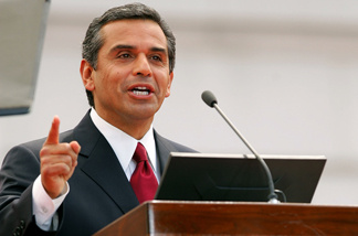 Los Angeles Mayor Antonio Villaraigosa.