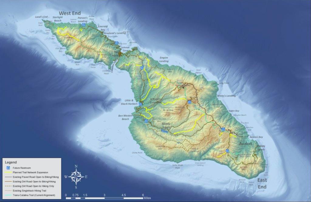 Catalina Island trails