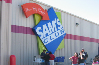 A Southern California husband and wife dropped a fanny pack at a Sam's Club and accidentally set off a gun inside it.