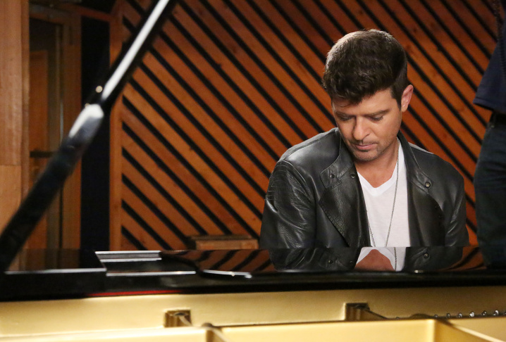 Robin Thicke Films Music Choice's Take Back Your Music Campaign