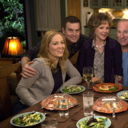 The stars of Parenthood include, left to right, Erika Christensen Peter Krause, Bonnie Bedelia, Craig T. Nelson, Lauren Graham and Dax Shepard.