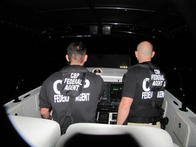 Coming back at night, the agents navigate with high-tech satellite radar system. They are in constant contact with the drone operations center in Corpus Christi, Texas.