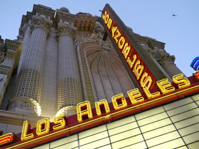 The Los Angeles Theater in downtown L.A.
