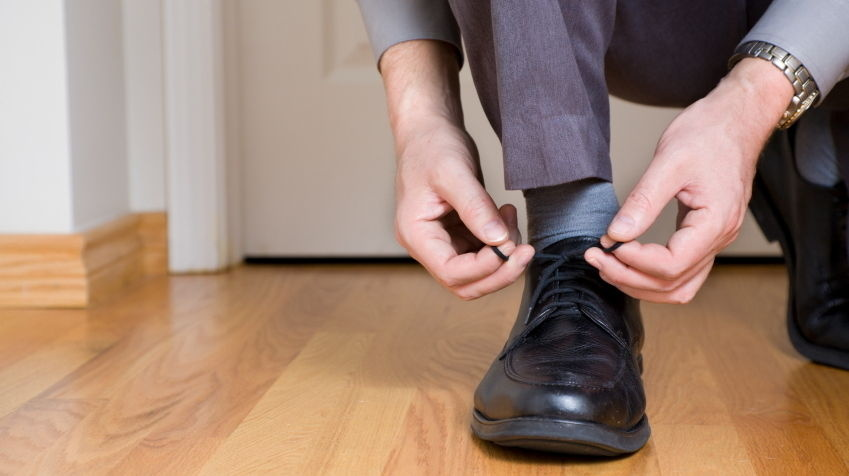 Can You Help Me Tie My Shoe? Researchers found that when study participants were asked an unusual request, they were more likely later on to perform a favor.
