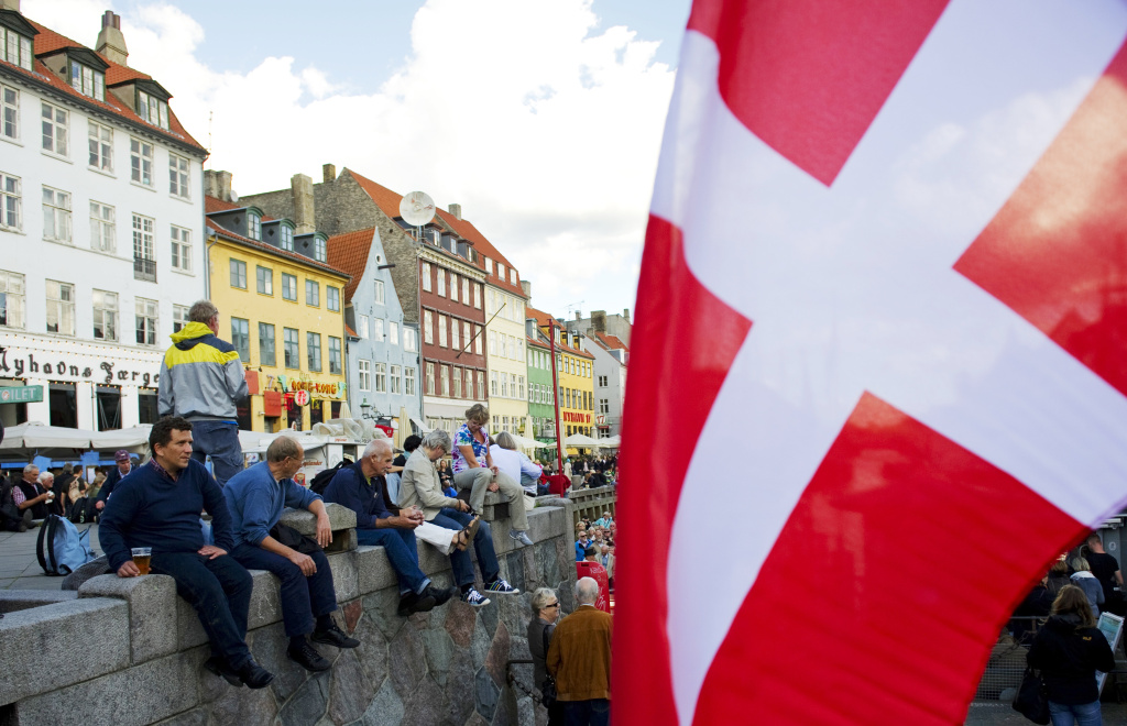 People enjoy the weather in the city of Copenhagen, Denmark, on September 16, 2011. According to the Organisation for Economic Co-operation and Development, Denmark has the healthiest