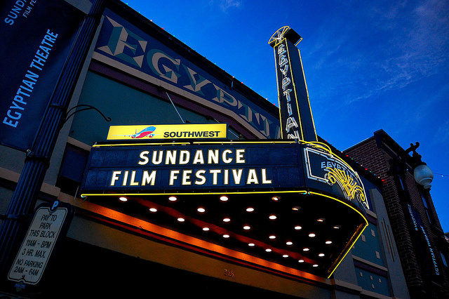 Theatre in Park City, Utah during the Sundance Film Festival.