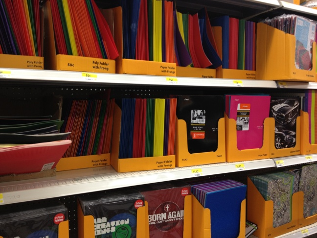 Back-to-school shopping occurs earlier this years since most Los Angeles area students start the new academic year in August, three weeks earlier than the usual post-Labor Day start.