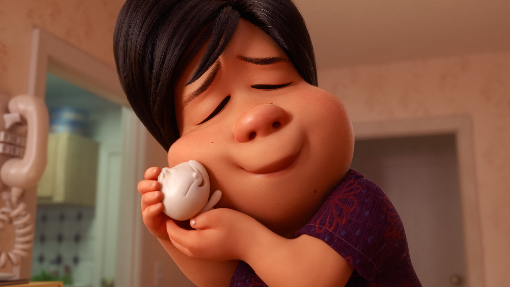 "In Disney•Pixar's all-new short ""Bao,"" an aging Chinese mom suffering from empty-nest syndrome welcomes another chance at motherhood when one of her dumplings springs to life."