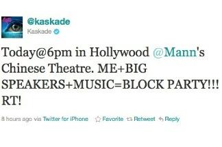 The tweet heard round Hollywood Blvd.