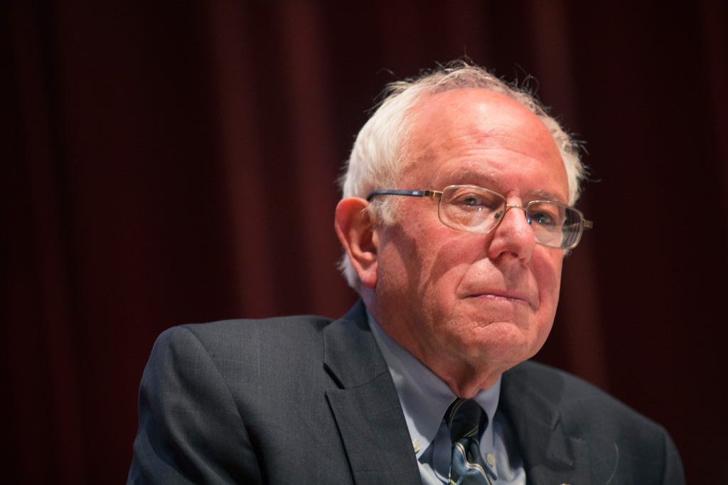 Senator Bernie Sanders is visiting Southern California to meet with Disneyland workers and truck drivers at LA ports.