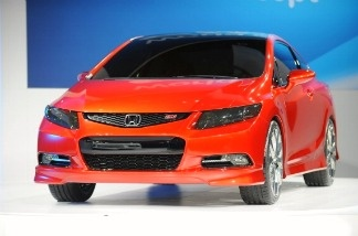 The Honda 2012 Civic concept car is unveiled during the first press preview day at the 2011 North American International Auto Show January 10, 2011 in Detroit, Michigan. Steve Proffitt placed the car on his list of 2011's most mediocre.