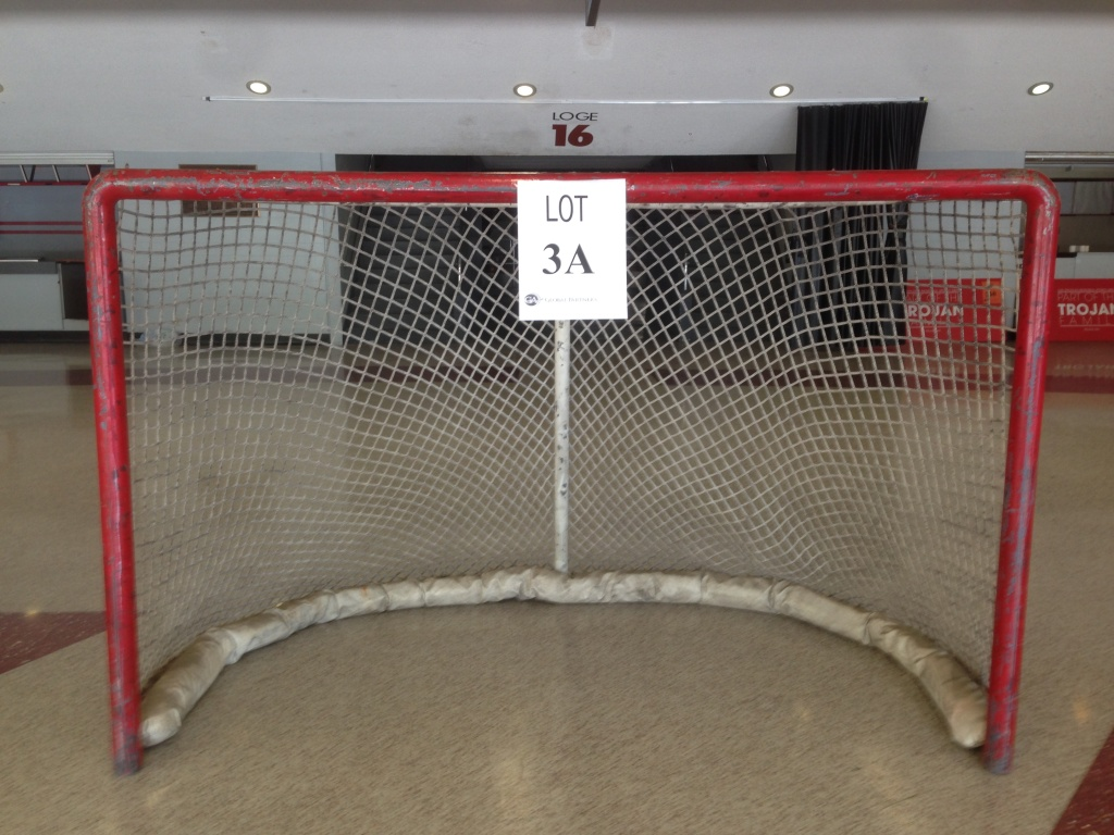 An actual goal from the days that the LA Kings played there
