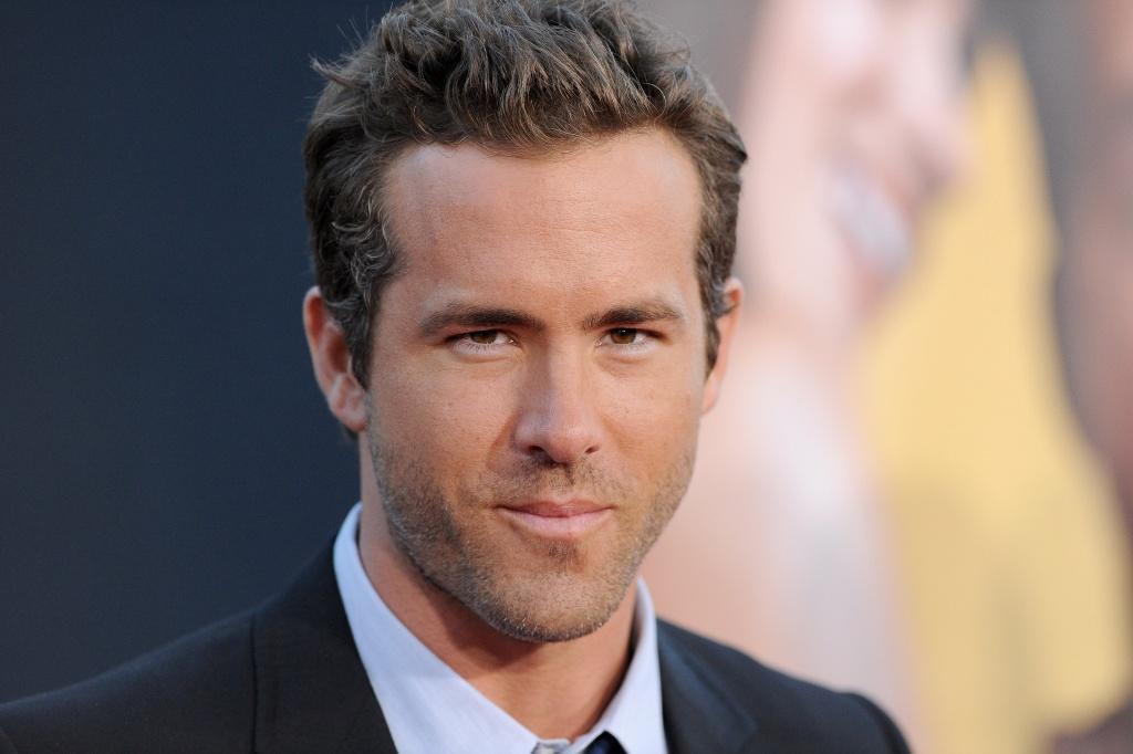 Actor Ryan Reynolds arrives at the Regency Village Theatre in Los Angeles, California.