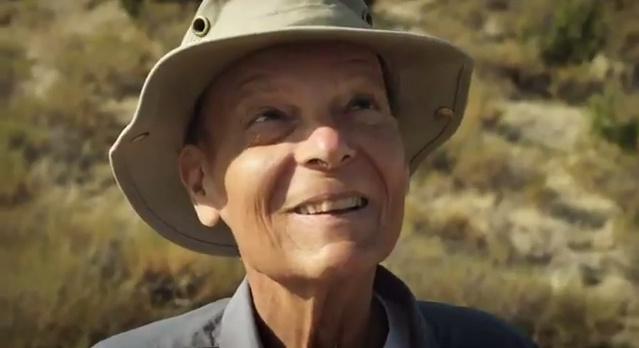 Peter Douglas at the Carrizo Plain