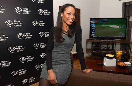 "Cari Champion, Host Of ESPN2's ""First Take,"" at Highline Stages on Jan. 31, 2014 in New York City."