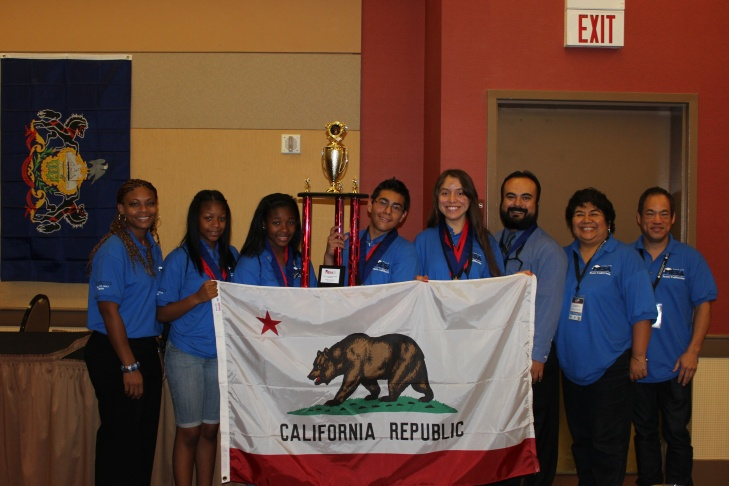 Jacqueline Sanchez and Julio Romero from Watts won a national engineering contest by designing a prosthetic arm.