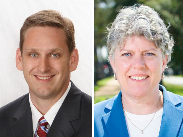 Republican Tony Strickland and Democrat Julia Brownley are in a close contest for U.S. House District 26, which includes most of Ventura County.