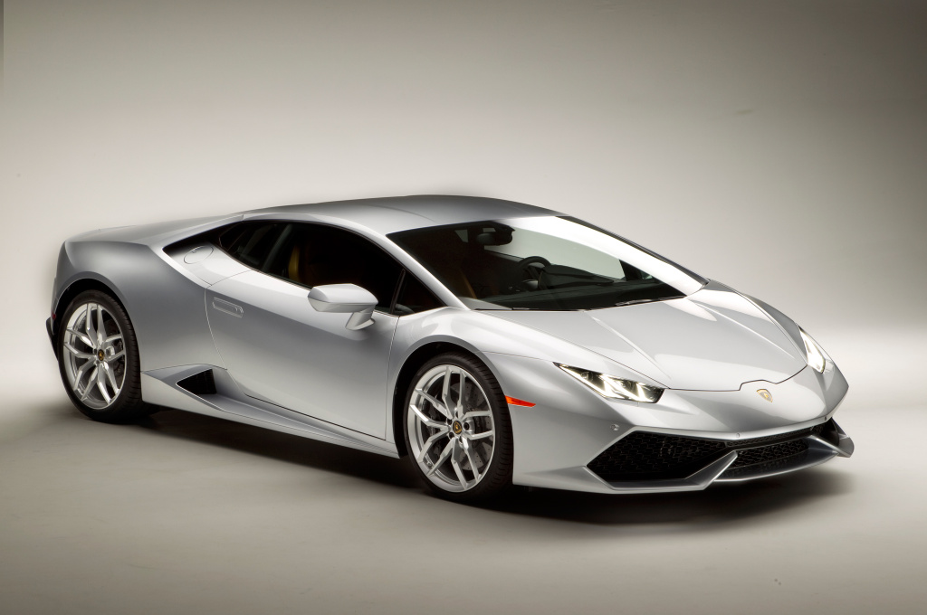 The Huracan is Lamborghini's