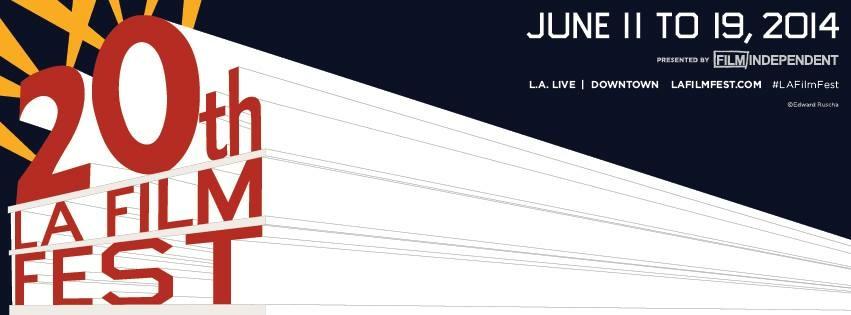 Logo for the 2014 LA Film Fest.