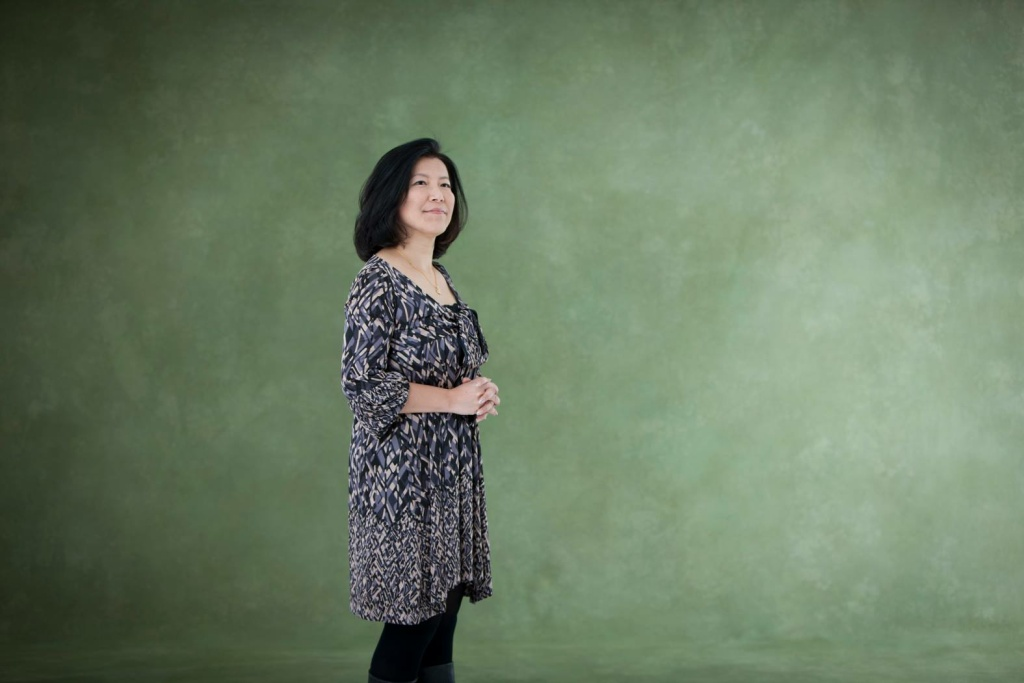 Video game composer Yoko Shimomura.