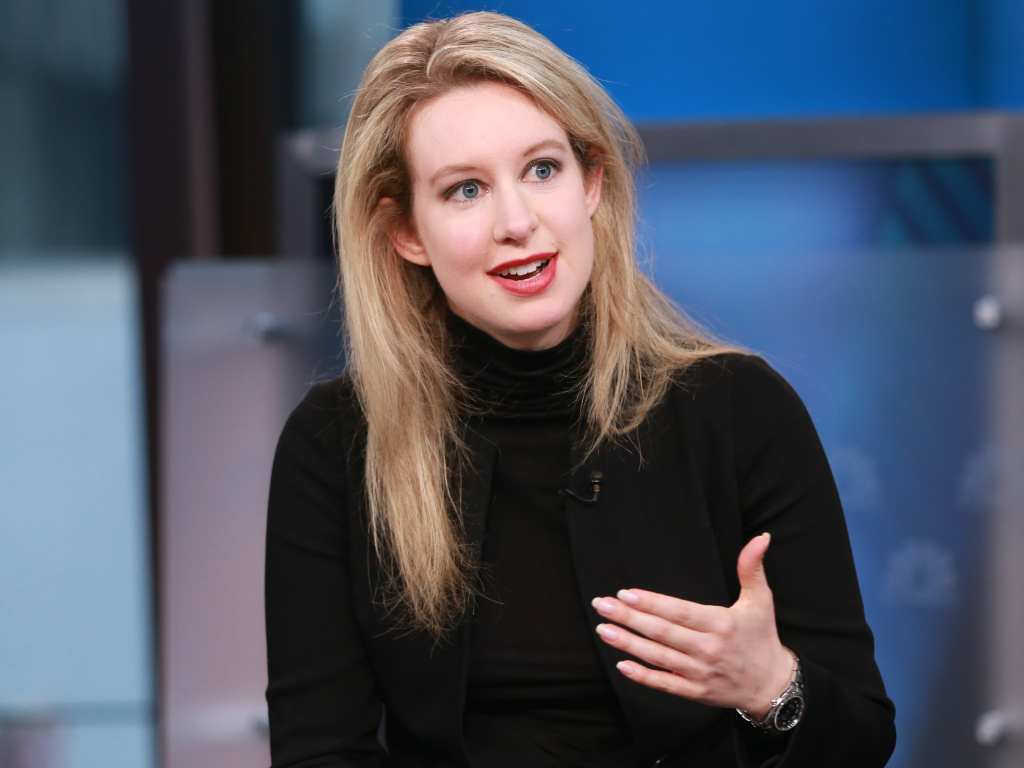Theranos, the blood testing startup accused of an elaborate fraud, told shareholders it will be shutting down. Founder and former CEO Elizabeth Holmes, seen here in 2015, is facing criminal charges.