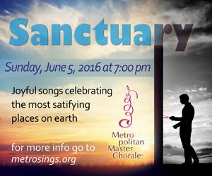 Sanctuary by Metropolitan Master Chorale