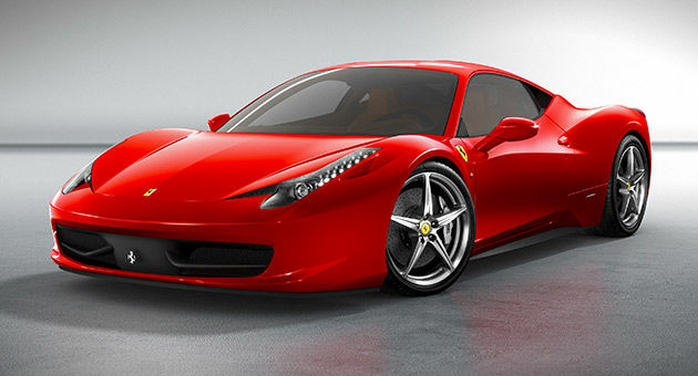 A Ferrari 458 Italia supercar has an output of 126hp per liter.