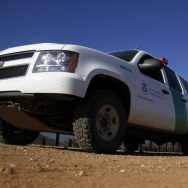 A U.S. Border Patrol Agent in September 2011, along the Mexico-Arizona border.