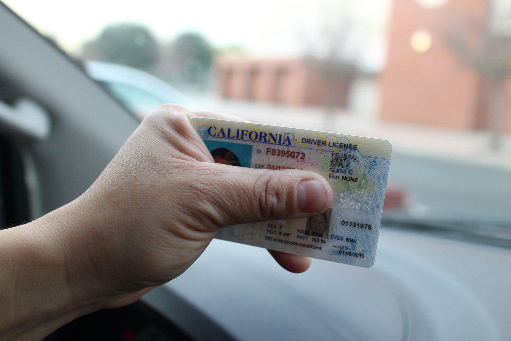 FILE: The A.B. 60 driver's licenses are marked with the words