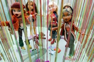 Bratz dolls are seen for sale on the Target Holiday Boat on Nov. 29, 2002 in New York City.
