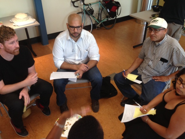 Members of a new citywide tenants union meet in Hollywood to plan their next moves.