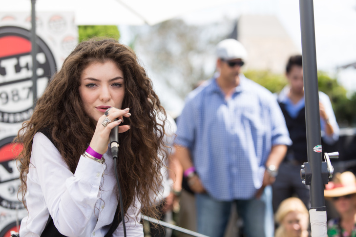Recording artist Lorde performs an at the Alt 98.7 Penthouse inside the Hollywood Tower on Wednesday, Sept. 25, 2013 in Los Angeles.