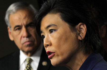 U.S. Rep. Judy Chu of El Monte is fighting a proposed bill that would create a visa program for high-value college graduates at the expense of an existing visa program.